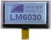 128x64 Graphic Display Module -- LM6030ACW - Image