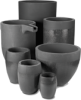 Starrbide Tar-Bonded Silicon Carbide Crucible