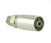 Industrial Hydraulic Crimp Fitting – 58 Series Male Taper Pipe Rigid -- 10158-4-4