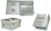 18x16x8 Inch 120VAC Gray Vented Weatherproof Enclosure w/Solid State Controlled Heating System -- NB181608-1HVS -Image