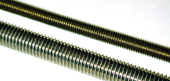 M5 x 0.8 Threaded rod, made from mild steel