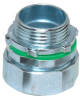 "Liqua-Seal Connector, straight, insulated, 1/2"" NPT, zinc plated iron -- LMM-12"