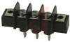 Barrier Terminal Blocks .375 PCB 3P SINGLE Quick connect style -- 70090702