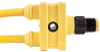 Single Key (M12) Micro-Link Splitter, Type B, 18 AWG, 1' length -- 304ILSB0010F