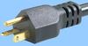 North American NEMA 5-20 Cord Set w/Straight C19 -- 86226020 -Image