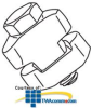 Erico Strut-to-Strut Clamp (Box of 100) -- STS -- View Larger Image