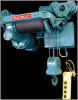 Motor Driven Trolley Single Hook Hoists