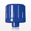 Non-Vented Male Luer Lock Cap, Blue -- 65510 -Image