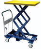 Extra High Manual Mobile Lift Tables