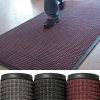 Deluxe Rubber Backed Carpet Mat, 3' x 10' Red/Black - 1 EACH -- SHP-8886
