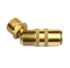 Series 200 - 300 - 500 Couplers 45 Degree Male Thread -- W-WF-DC20/45M14 - Image