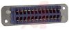 connector,rack and panel,plug w/ribbon contacts,solder eyelet term,24 contact -- 70144697