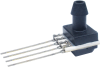 TruStability™ SSC Series-Standard Accuracy, analog, SIP AN: single axial barbed port, gage, 0 bar to 1 bar, 5.0 Vdc, dry gases only, no special options -- SSCSANN001BGAA5 -Image