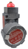 MICRO SWITCH BX2 Series Hazardous Location Limit Switches (Non Plug-in), top pin plunger (momentary), 2NC 2NO SPDT snap action, 0.75 in - 14NPT conduit, and 316L stainless steel housing -- BX2C4L