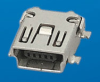 Cable Assemblies and IO cable connectors, IO cable connectors, USB Series, Mini USB Receptacle, Mounting style=Surface Mount Type -- 10033526-N3212LF - Image