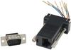 DB9 Male to RJ45 Modular Adapter -- RJ9P8
