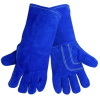 Global Glove Blue Universal Leather Welding Glove - 1200KB LG -- 1200KB LG