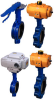 STW Series Butterfly Valve with Wafer Connection -- MST Model