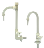 PP Deck Mount Adjustable Neck Goose Neck Faucet -- 32457