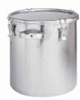 CTH-47H T-316L - Stainless steel storage tank with clip-down cover, 26.4 gal. -- GO-07505-10
