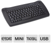 Adesso Mini USB Keyboard With Trackball (Black) -- ACK-5010UB