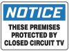 Notice Security Sign,10 x 14In,PLSTC,ENG -- 8TNN7