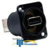 Hubbell Pro-AV USB A to B Reversible Connection, Feed-Thru.. -- USB10