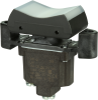 TP Series Rocker Switch, 1 pole, 3 position, Screw terminal, Flush Panel Mounting -- 1TP1-21 - Image