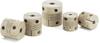 Cleanroom / Vacuum / Heat Resistant Couplings - Slit Type (PEEK) - Clamping Type -- MSXP-C -Image