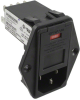 Power Entry Connectors - Inlets, Outlets, Modules -- 1-6609960-0-ND - Image