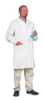 META Fluid-Resistant Antistatic Lab Coat, Large -- GO-86468-42