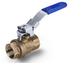Brass Ball Valve -- s. 93 NPT Downstream Exhaust