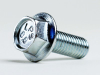 Hex Flange Bolt Cap Screw Steel 8.8 Zinc 14AF JIS B1189, M10X1.25X50 -- M42132 - Image