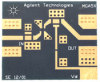 Demonstration Circuit Board for MGA-52543 and MGA-53543 (2 GHz) -- DEMO-MGA-5X