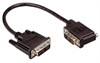 DVI-D Single Link LSZH DVI Cable Male / Male Right Angle, Right, 1.0 ft -- MDA00042-1F -Image
