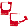 """Red """"Handilok HL-8"""" Seals -- SE1021"""