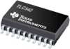TLC542 8-Bit, 25kSPS ADC Serial-Out, On-Chip 11-Ch. Analog MUX -- TLC542IDWR