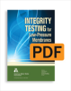 Integrity Testing for Low-Pressure Membranes (PDF) -- 20650-PDF