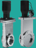 High Vacuum Gate Valve -- Pneumatic, ISO-QF or LF Ports