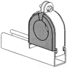 Channel Conduit/Cable Clamp -- PS 722 4