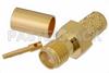 SMA Female Connector Crimp/Solder Attachment for PE-C240, RG8X, 0.240 inch, LMR-240, LMR-240-DB, LMR-240-UF, B7808A -- PE44639 -Image