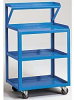 RELIUS SOLUTIONS Utility Cart with Instrument Shelf -- 8506500