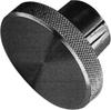 Steel Knurled Control Knob -- Model 21202 - Image