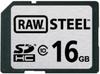Hoodman - RAW Steel 16GB Class 10 SDHC