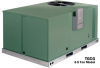 TGCG Series for R-410A Gas / Electric Combination Heat / Cool Commercial Package