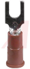 Terminal; Block Fork; 22 to 18 AWG; 0.145 in. (Max.); ETP Copper; Tin; Vinyl; 6 -- 70113743