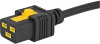 VAC19KS, China, V-Lock cord retaining, 6.0 m, Connector IEC C19, RVV 300/500 3x1.5, black -- 3-102-501 -Image