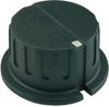 Control Knob,1-1/16,1/4X1/2 BB,M4x.7SS -- 1155 - Image