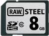 Hoodman - RAW Steel 8GB Class 10 SDHC