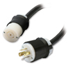 18' CABLE EXTENDER 5-WIRE #10 AWG, UL WITH L21-20R/P -- PDW18L21-20XC